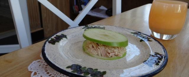 No-bread tuna sandwich1